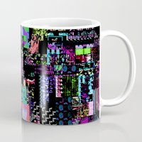 castlevania Mugs featuring Glitchy by ChadXilla