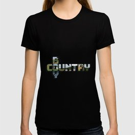Country Boy Big Letter T-shirt