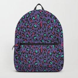 Ultra Violet Leopard Signature Andreiaqua Backpack