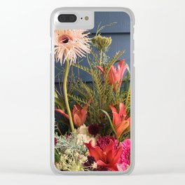 Bright Vibes Clear iPhone Case