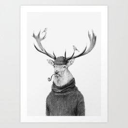 Wild Thinking Art Print