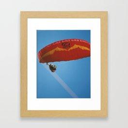 Speed Kiting in Southern California Framed Art Print