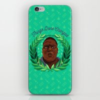 notorious big iPhone & iPod Skins featuring NOTORIOUS by badOdds