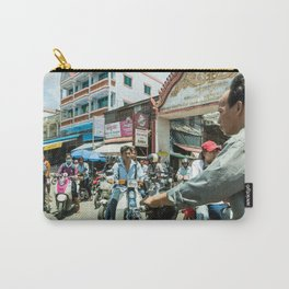 Phnom Penh Traffic Jam, Cambodia Carry-All Pouch