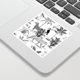 botanical jungle Sticker