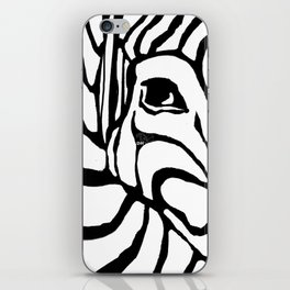Zebra Print iPhone Skin