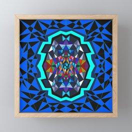 Facets Framed Mini Art Print