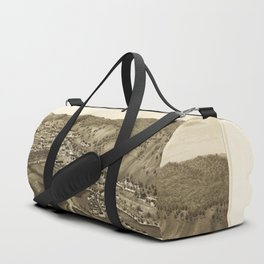 Aerial View of Bethel, Vermont (1886) Duffle Bag