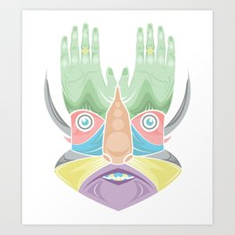 DR GREEN THUMB Art Print