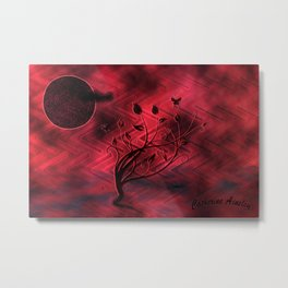 Oppressive Night Metal Print