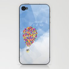 ADVENTURE IS OUT THERE! iPhone & iPod Skin