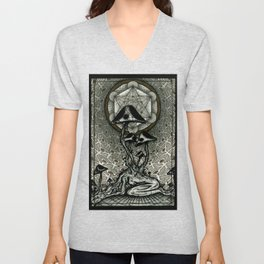 Shroom Consumed Unisex V-Neck