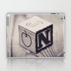 Toy cube... Monochrom Laptop & iPad Skin