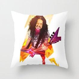 A Dimebag Attitude Throw Pillow