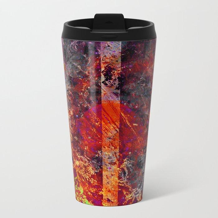 Old Flame Metal Travel Mug
