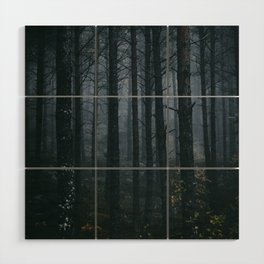 Blind Ghosts Wood Wall Art