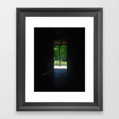 Darkness Into Light Framed Art Print