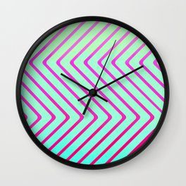 Beach Optical Painting Pop Art Wall Clock