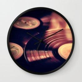 music libary Wall Clock