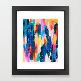 Brushstroke no.8 Framed Art Print