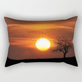 My Favorite Color is Sunset Rectangular Pillow
