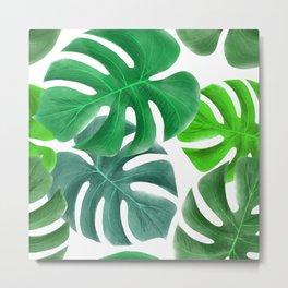 Amazing Tropical Leaves Metal Print