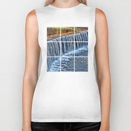 Waterfall near Flatrock Biker Tank