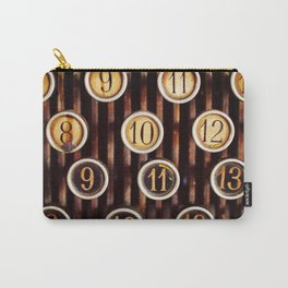 Vintage Numbers Carry-All Pouch