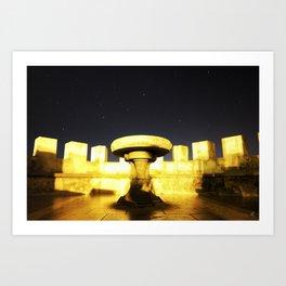 Castello di Venere Art Print