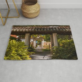 Courtyard Hooker Hall and Lyman Hall Rollins College Winter Park Central Florida Orlando Rug
