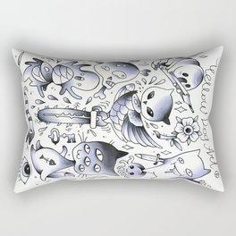 rave2 Rectangular Pillow