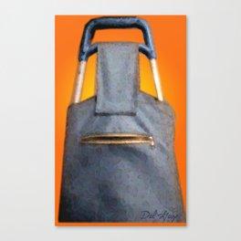 Tiki Luggage Canvas Print