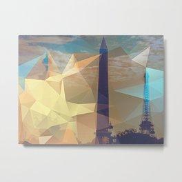 Cubisme Metal Print