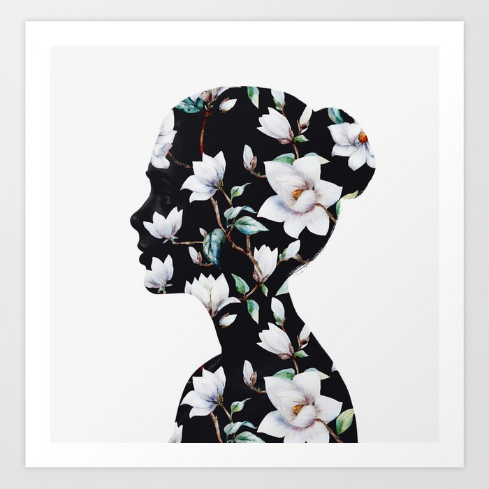 Discover the motif MAGNOLIA by Andreas Lie as a print at TOPPOSTER