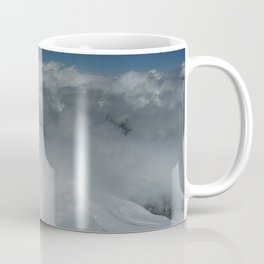 From Aiguille du Midi in the French Alps /Mont Blanc Coffee Mug