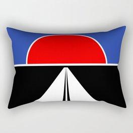 Cannonball Run Rectangular Pillow