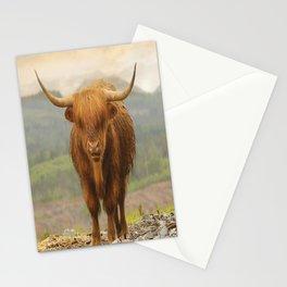 Highland Moo Stationery Cards