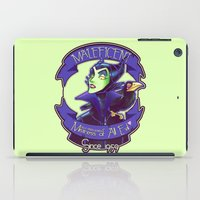 maleficent iPad Cases featuring Maleficent by KanaHyde