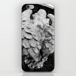 Angel's winged back iPhone Skin