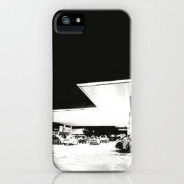Petrol and Night iPhone Case