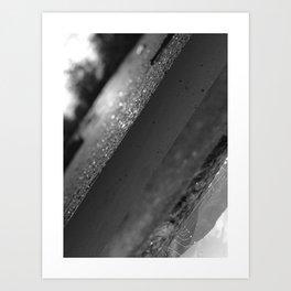 Concealment vs. Openness Art Print