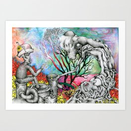 Heal the Weak Art Print