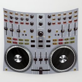 Dj Set Wall Tapestry