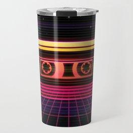 Sunset Cassette Travel Mug
