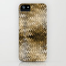 ZiGzAg Snake skin Brown New Chevron  iPhone (5, 5s) Slim Case