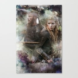 Battle Torn Canvas Print