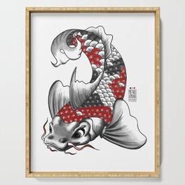 M&m Designs - Koi Fish Serving Tray