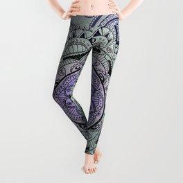 Mandala Violet Leggings