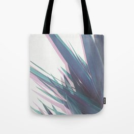Holographic Leaves II Tote Bag