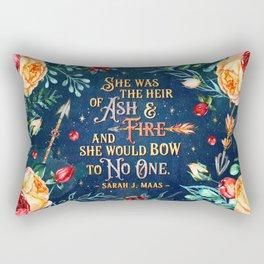 Ash & Fire Rectangular Pillow
